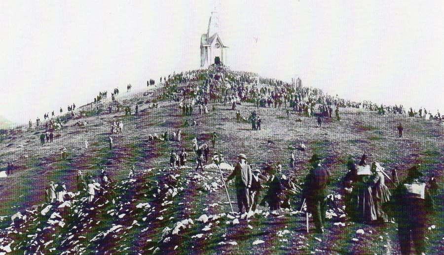 Anno  1902 - Inaugurazione del Monumento