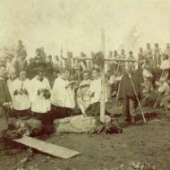 Anno  1901 – Posa della Prima Pietra