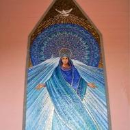 """Il Mosaico""""La Madonna dell'Accoglienza"""" - Particolare"""