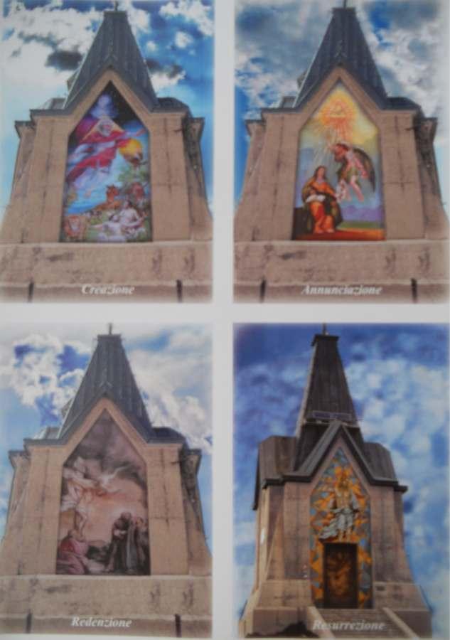 I quattro Mosaici sul Monumento
