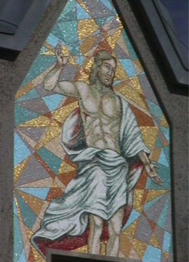 Mosaico a Cristo Redentore