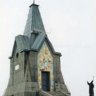 Il Monumento a Cristo Redentore con Papa Paolo VI