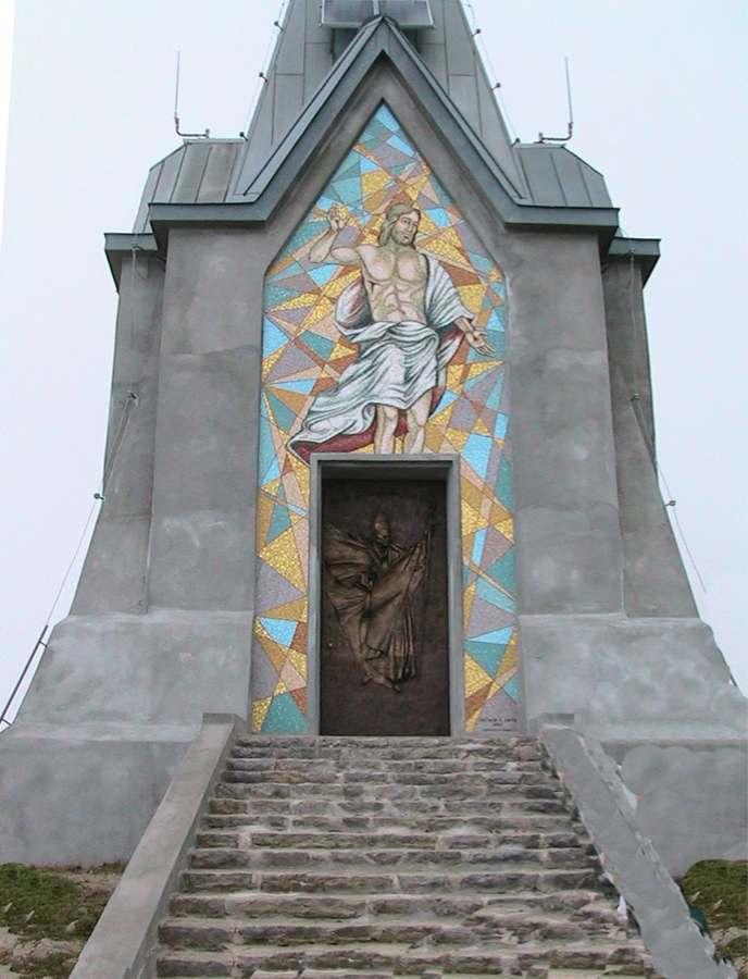 Facciata anteriore del Monumento