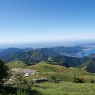 Veduta panoramica del Lago d'Iseo