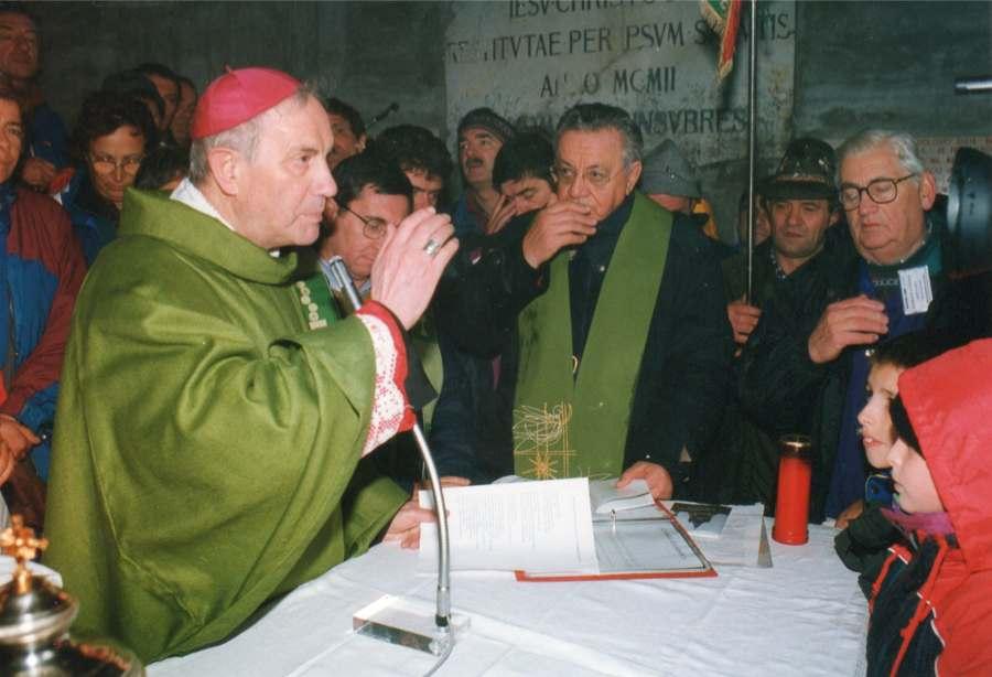 Celebrazione e Benedizione della Statua di Paolo VI