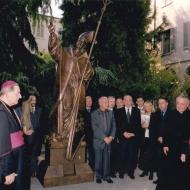 Anno  1998 Papa Giovanni Paolo II alla Fondazione Paolo VI